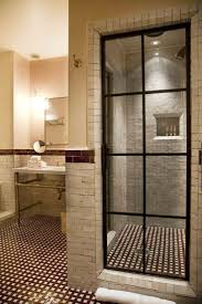 Elegant Bathroom Designs Bathroom Amazing Walk Bathroomshower Goldenrod Prism Wood Corner