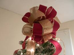 how to make a bow tree topper rainforest islands ferry
