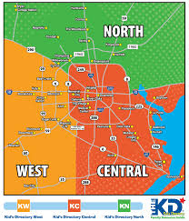 map of houston area the kid s directory houston resource guides and map of distribution