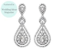 chandelier wedding earrings style chandelier earrings savoy jules bridal jewellery