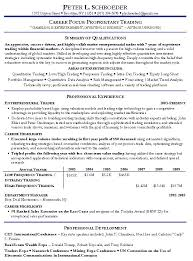 stock investor resume investment professional resume samples
