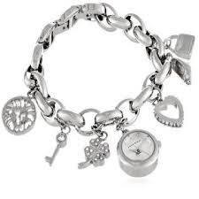 anne klein bracelet images Anne klein women 39 s 10 7605chrm swarovski crystal silver tone charm jpg&a