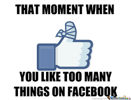 Facebook Likes Meme - facebook like fail by richard ramage 92 meme center