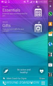 wallpaper for note edge screen two exclusive features for galaxy note 4 and galaxy note edge