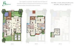 World Floor Plans Tatvam Villas Prithvi Estates