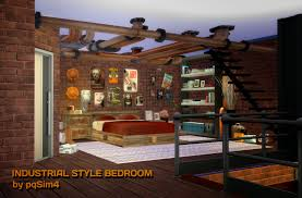 sims 4 industrial style bedroom