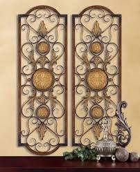 Italian Wall Decor Wrought Iron Wall Grille Decor The Reflection Of Your Taste With