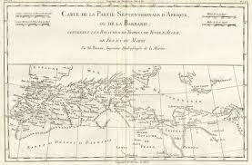 Map Of North Africa by File 1780 Bonne Map Of North Africa And The Western Mediterranean