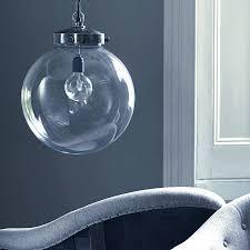 Glass Globes For Chandeliers Glass Globe Pendant Light Design
