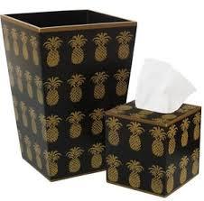 bathroom set bathroom accessories trash can u0026 tissue box cover