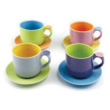 tea cup set hemisphere demitasse cup set 5oz