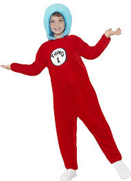 1 2 Halloween Costume Smiffy U0027s Official Dr Seuss 1 2 Costume Small