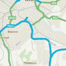 map uk leeds rothwell leeds area information map walks and more