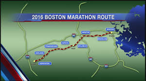 Map Of Boston Marathon Course by From Hopkinton To Boston A Look At The Boston Marathon Route
