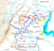 Northern Virginia Map File Northern Virginia Campaign Aug7 U201328 Svg Wikimedia Commons