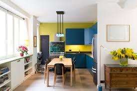 journal femmes cuisine une cuisine ouverte pleine de couleurs 40 cuisines ouvertes