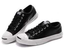 Sepatu Converse Black sepatu converse model terbaru purcell hitam kulit fashion