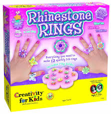 amazon com creativity for kids rhinestone rings toys u0026 games