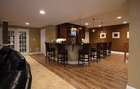 interior waterproof basement flooring ideas wood with black