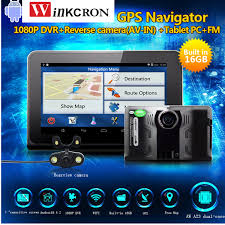 best android gps best 7 inch android gps navigator car dvr with radar