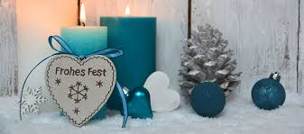 Blue Silver Christmas Decorations Uk by