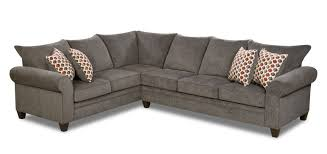 Albany Sectional Sofa Living Rooms Albany Pewter Sectional Sofa