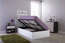 storage bed frames ebay