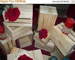 Rustic Wedding Decorations For Sale Gotcha Sale Wooden Crates Centerpieces Rustic Wedding