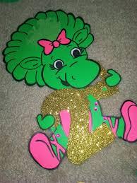 Barney Party Decorations Barney And Baby Bop Birthday Party Ideas Aubrey U0027s 3rd Birthday