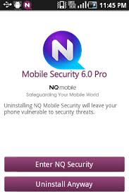 nq security pro apk android how nq mobile security app responds on uninstallation i