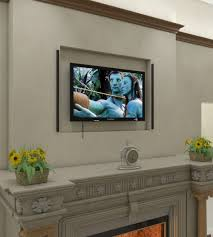 installing wall mount tv installation guide recess mounted recessed rails