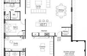 large kitchen floor plans kitchen big family home floor plans open plan house modern living