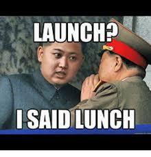 Un Meme - launch i said lunch fat kim jong un meme on me me
