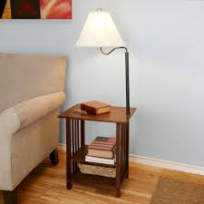 bedside table with lamp attached bibliafull com