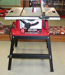 skil 10 inch table saw skilsaw 3400 15 amp 10 inch table saw with stand ebay