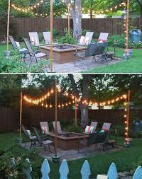 Lighting For Patios 15 Diy Backyard And Patio Lighting Projects Amazing Diy