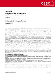 chambre de commerce tunisie 59502568 regime du commerce exterieur en tunisie