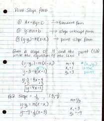 notes page 1