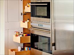 kitchen kitchen units black pantry cabinet tall cupboard storage