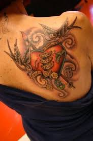 43 best heart tattoos images on pinterest colors design tattoos