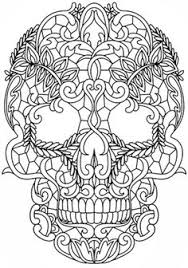 image result sugar owl skull coloring pages coloring
