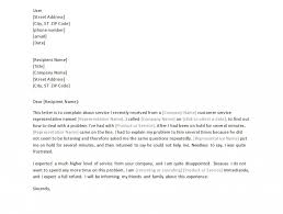 Formal Complaint Letter Template Word by Formal Letter Of Complaint Template Formal Letter Template