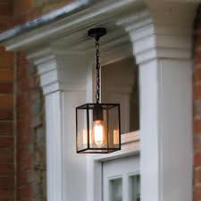 black outdoor porch pendant light cl 33807 e2 contract lighting uk
