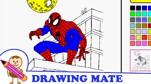 spiderman coloring pages kids colouring sheets kolorowanki dla