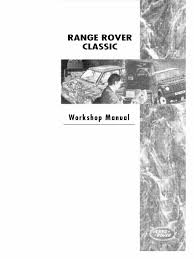 range rover classic workshop manual manual transmission piston
