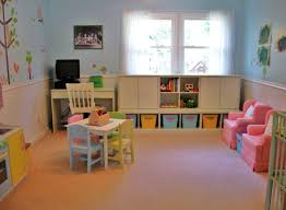 Playroom Ideas Furniture Captivating Playroom Ideas With Blue Paint Walls And