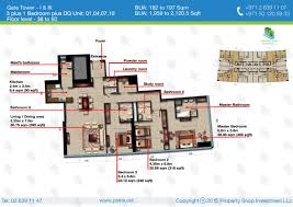 buy apartment 3 bedrooms the gate tower 3 al reem island apm31526