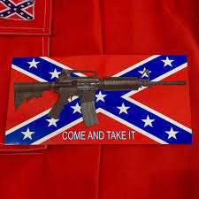 Confederate Flag Decals Truck Come And Take It