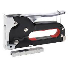 Electric Staple Gun For Upholstery Black Staple Gun 4 To 8 M Hobbycraft