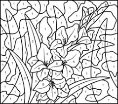 download hard color number coloring pages ziho coloring